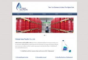 ผลงานเว็บไซต์ Global Asia Pacific Co.,Ltd.