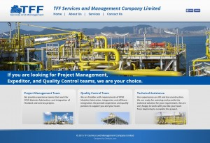 ผลงานเว็บไซต์ TFF Services and Management Company Limited