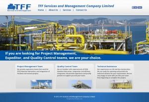 ผลงานเว็บไซต์ TFF Services and Management Company Limited